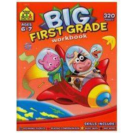Big First Grade Workbook  by School Zone