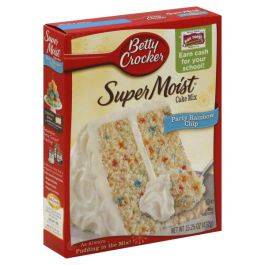 Betty Crocker Rainbow Cake Mix 432g