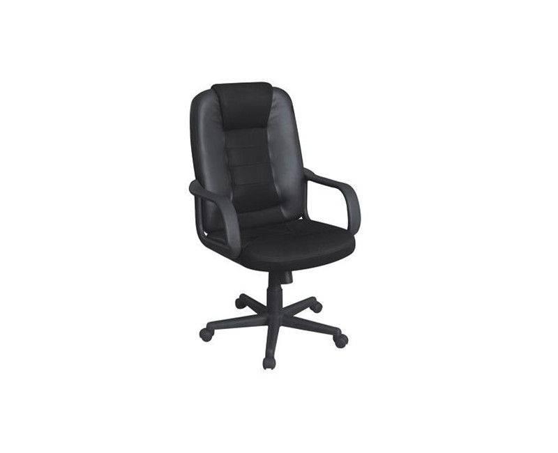 Xtech QZY-0939  Black Toulouse Manager's Chair