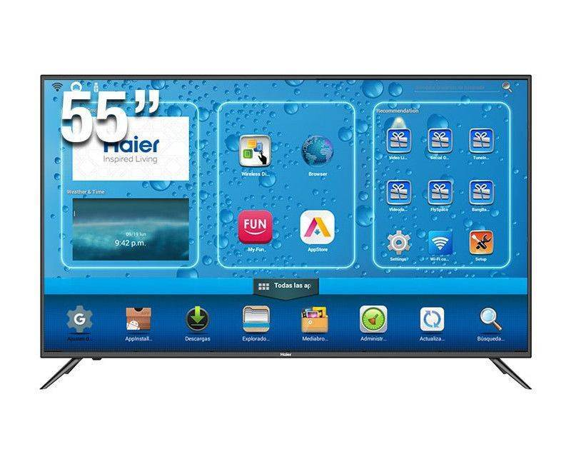 "Haier 55"" 4K UHD Smart LED TV"