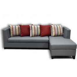 The Athens 3 Seater with Chaise Lounge Sofa