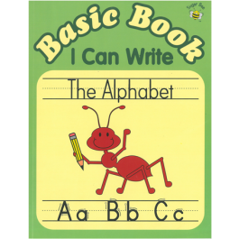 Sugar Bee Basic  Book I Can Write the Alphabet Workbook