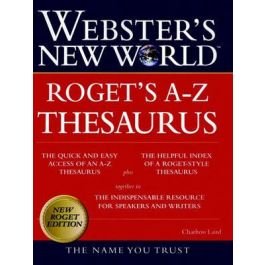 Webster's New WorldTM Roget's A-Z Thesaurus (thumb-indexed)
