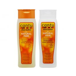 Cantu Shea Butter for Natural Hair Shampoo & Conditioner Combo 13.5 Fl.Oz