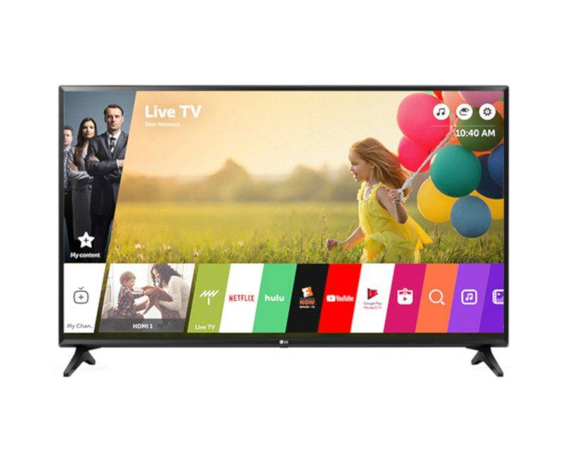 "LG 43"" 4K ULTRA SMART TV"