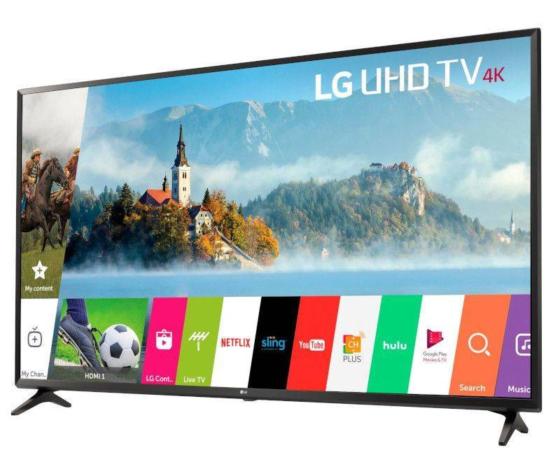 LG 55'' UJ6300 4K ULTRA SMART TV