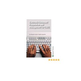 Electronic Document Preparation and Management for CSEC by Ann Margaret Jacob