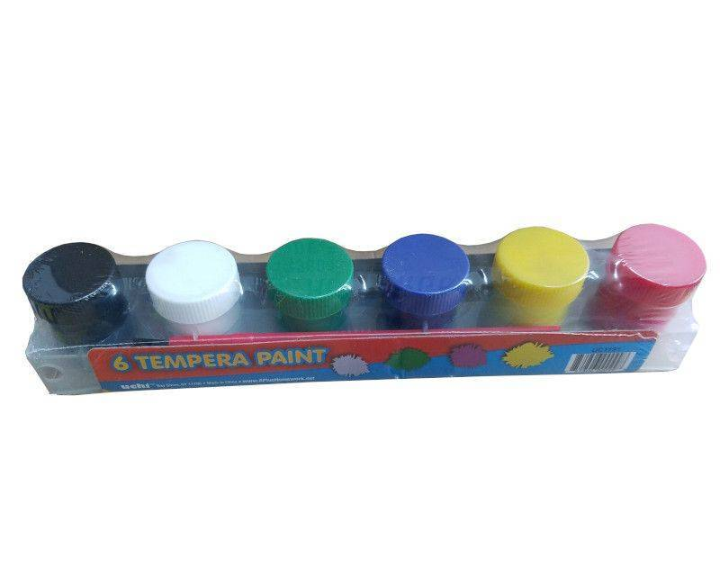 A+ 6 Pack Tempera Paints