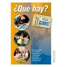 Que Hay? Libro del Alumno CSEC