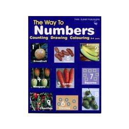 Way to Numbers, Counting, Draw, Colour