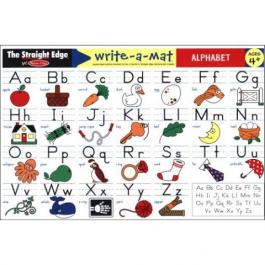 Write-A-Mat Alphabet Place Mat