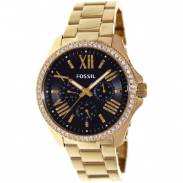 Fossil Women's 'Cecile' AM4497 Multifunction Goldtone Watch