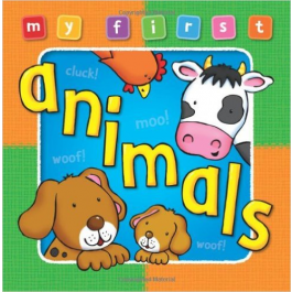 My First Animals Board  Book