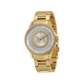 Armani Exchange Crystal Dial Ladies Watch