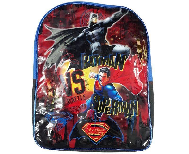 Batman Vs Superman Vinyl School Bag
