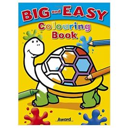 Big and Easy Colouring Book Award (Tortoise) by Angela Hewitt