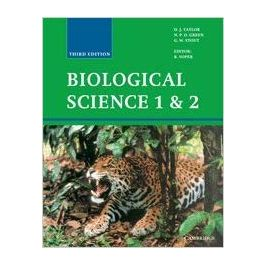 Biological Science 1 and 2 3rd Edition by by D. J. Taylor, N. P. O. Green, G. W. Stout