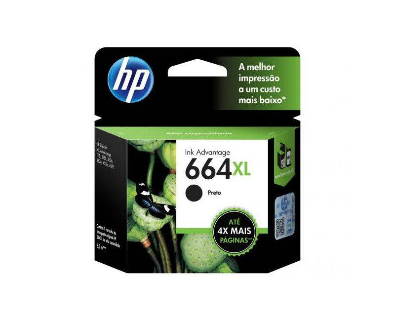 HP - Ink cartridge - Black  664XL