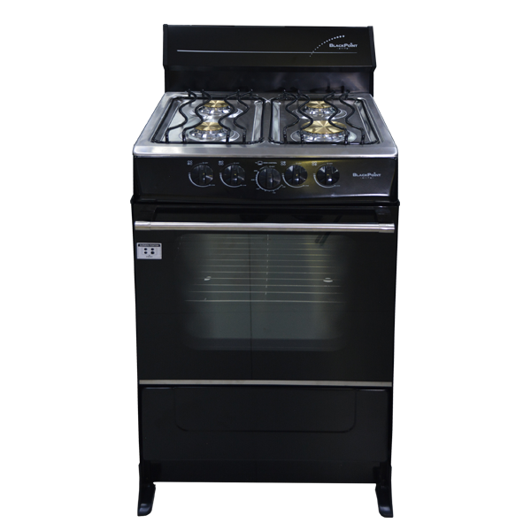 BlackPoint 20-Inch Black Steel Gas Stove