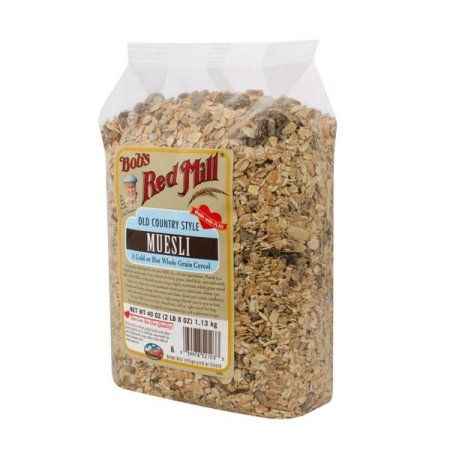Bob's Red Mill Old Country Style Muesli 64oz
