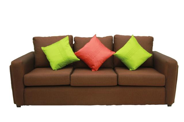 Boca 2 Piece Brown Sofa Set