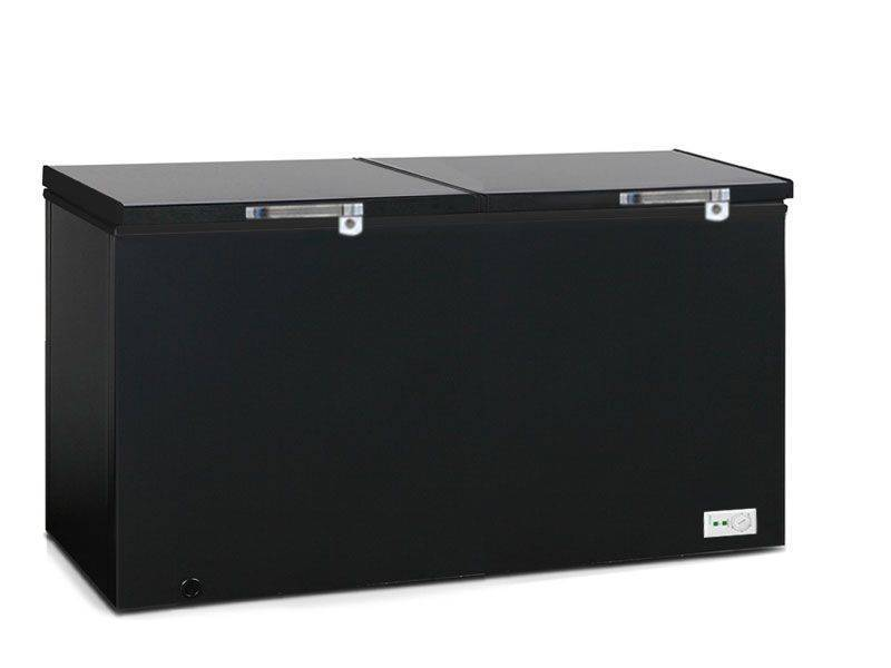 Blackpoint 22.5CB Heavy Duty Black Deep Freezer