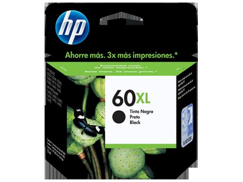 HPc CC641WL #60XL Large Black Ink  600 pages