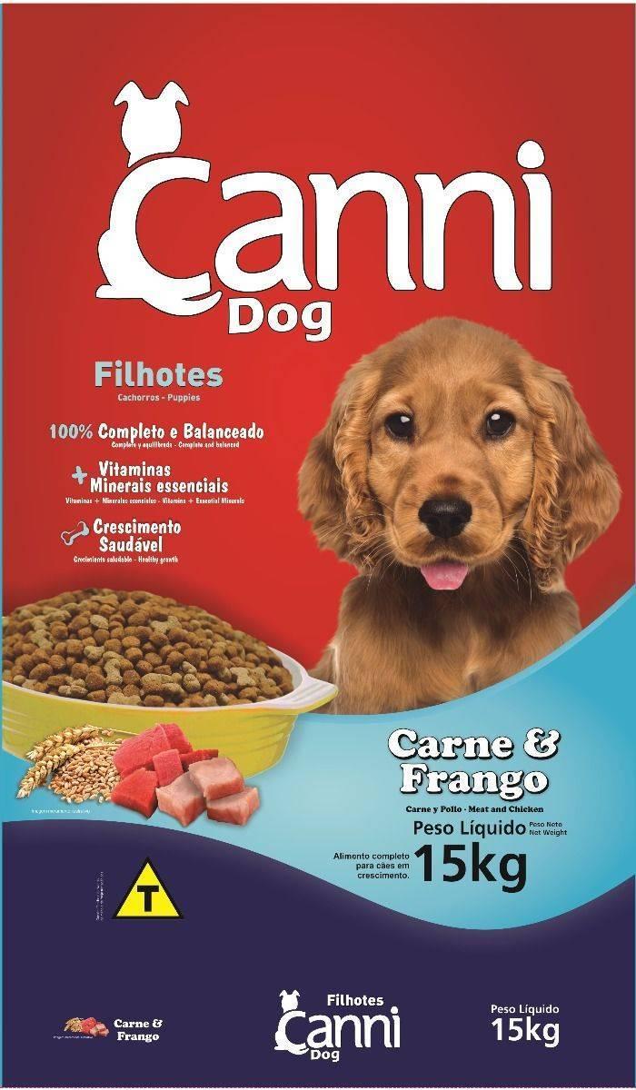 Canni Puppy Food 15 Kg