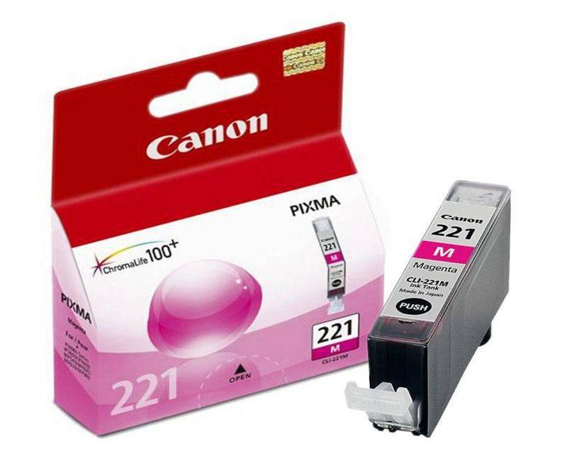 Canon  CLI-221 Magenta Print Cartridge