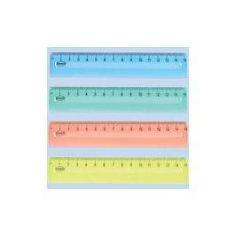 "Centrum Plastic 6"" Ruler Assorted"