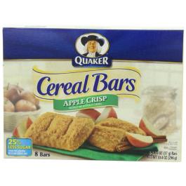 Cereal Bar Quaker Apple Crisp 8X37 Gram