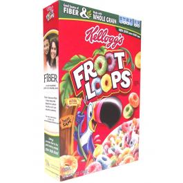 Kelloggs Froot Loops Cereal 246 Grams