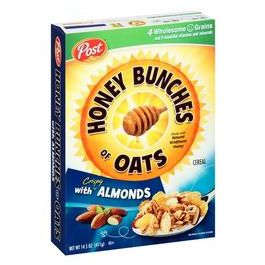 Post Honey Bunches Of Oats Almond Cereal 14.5 Ounces
