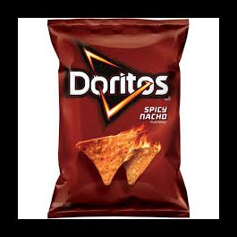 Doritos Spicy Nacho Chips  11 Ounces