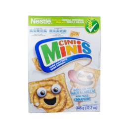 CINI MINIS Cinnamon Cereal 345g Box