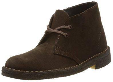 Clarks Desert Boot in Brown Suede for Men-9.5