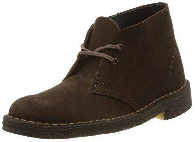 Clarks Desert Boot in Brown Suede for Men-11