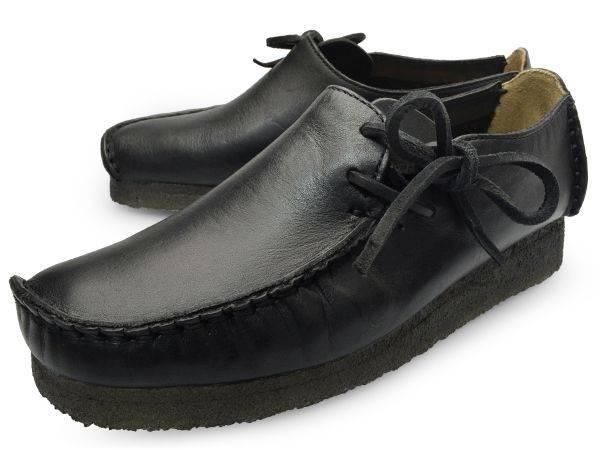 Clarks Lugger Black Slip on Loafers for Men-10.5