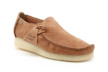 Clarks Lugger in Macara Scratched Loafers for Men-8.5