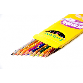 Crayola 10 Pack Erasable Pencil Crayons