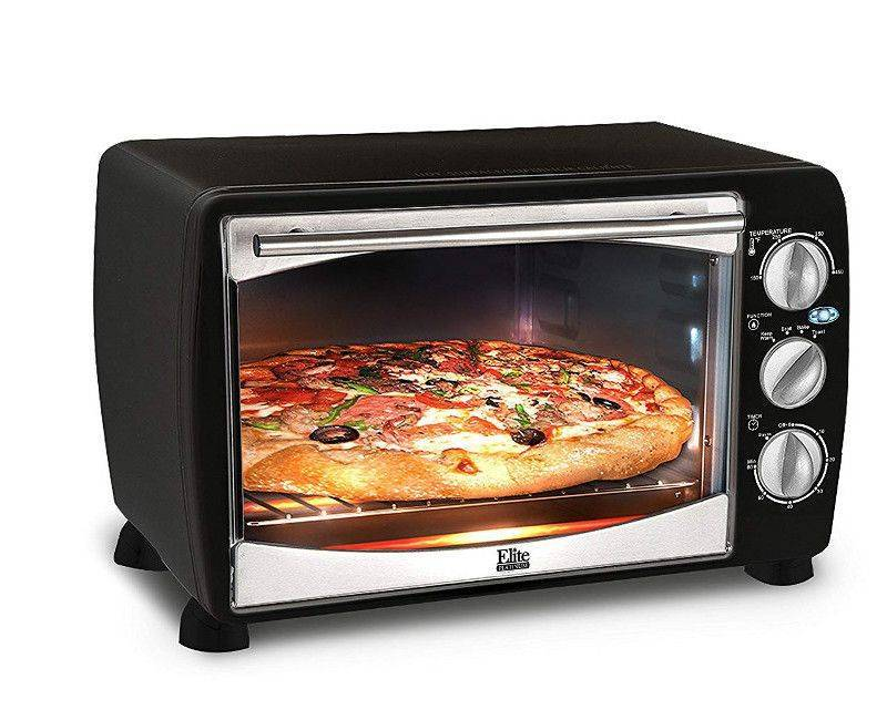 Elite Platinum by Maxi-Matic Countertop Toaster Oven Broiler ETO-180B