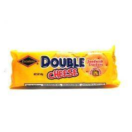 Excelsior Double Cheese Crackers 40g