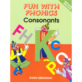 Fun with Phonics Consonants Carlong Primary Books