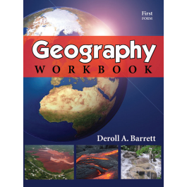 Geography Workbook First Form by Deroll Barrett