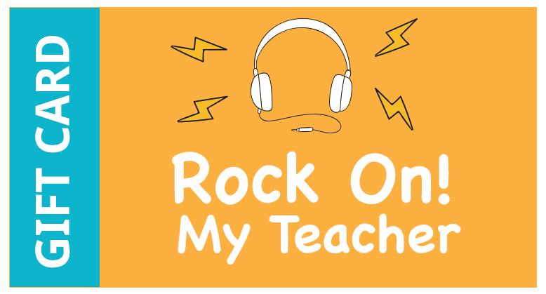 Rock On My Teacher $16,000.00 - $20,000.00