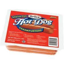 Grace American Style Hot Dog Frankfurters
