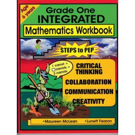 Grade One Integrated Mathematics Workbook Steps to Pep by M. Mclean & L. Fearon