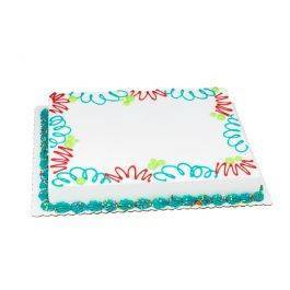 SO 1/2 Yellow/Chocolate- Vanilla Cake