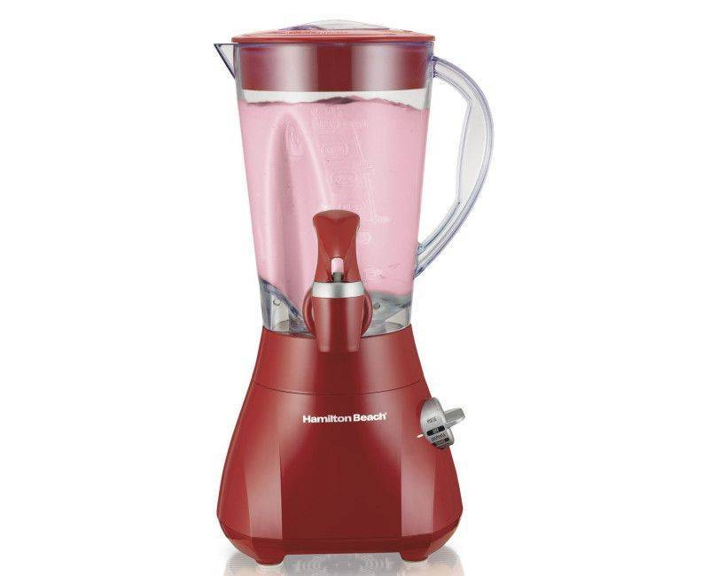 HAMILTON BEACH HB54619 BLENDER WITH TAP DISPENSER