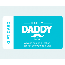 Happy Daddy Day Father's Day Gift Card $2,000.00 - $5,000.00